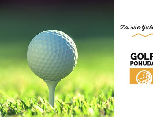 Golf – ponuda